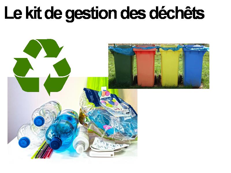 kit de gestion des déchets pour scolaires