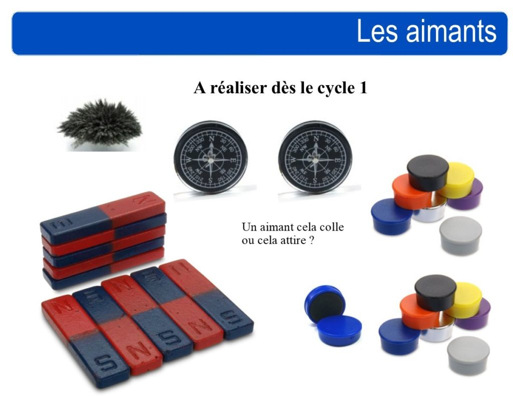 kit aimants école